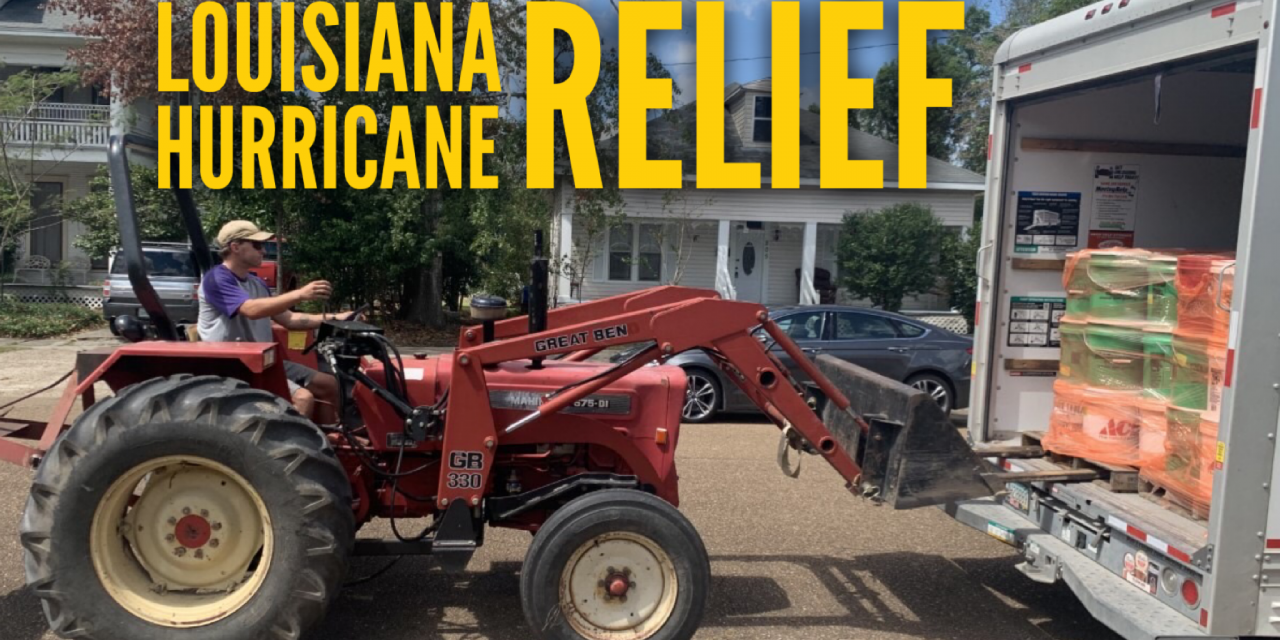 Nebraska Churches Send Hurricane Relief Supplies to Louisiana